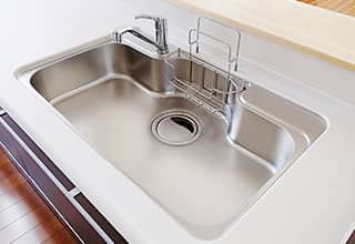 主婦の目でチェックされるキッチン・浴室・トイレは清潔さをアピール!